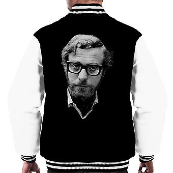 Michael Caine Black Frames 1969 Men's Varsity Jacket