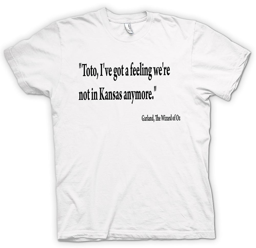 Womens T-shirt - The Wizard Of Oz - Quote