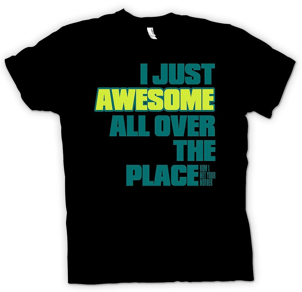 Mens T-Shirts - ich gerade in Awesomed ganz