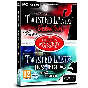 Twisted landområden 1 och 2 - dolda mysterium kollektiven (PC DVD)