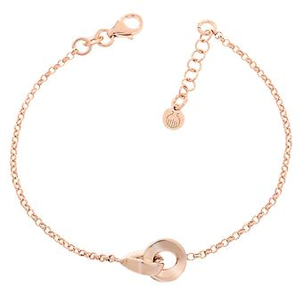 Orphelia Silber 925 Armband Rosegold 2 Links ZA-7178/RG