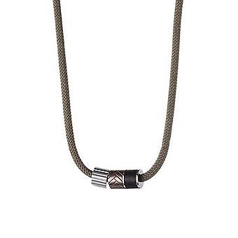 ESPRIT męskie łańcucha ze stali nierdzewnej włókienniczych dotknąć ESNL11403A450
