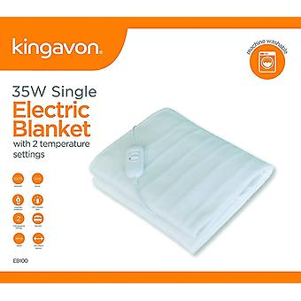 Kingavon Heated Electric Under Blanket Fleece - Single