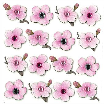 Jolee's Boutique Dimensional Stickers-Cherry Blossoms