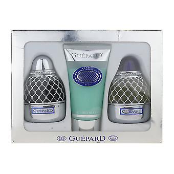 Guepard Guepard 3 Piece Gift Set EDP + Aftershave 3.4Oz & Shower Gel 5.1Oz