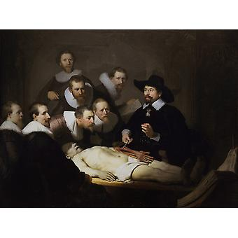 The anatomy Lesson of Dr,REMBRANDT Harmenszoon van Rijn,50x40