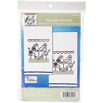 Tobin Stamped For Embroidery Kitchel Towels 18