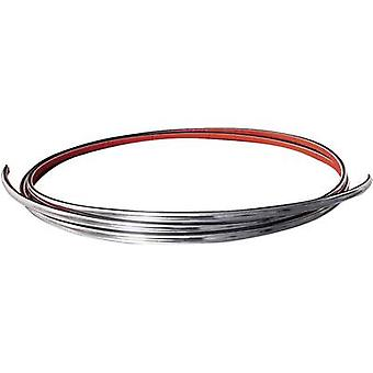 Eufab 30182 Trim Chrome (L x W) 2.45 m x 21 mm