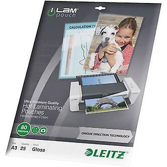Laminate sheet Leitz A3 80 micron glossy
