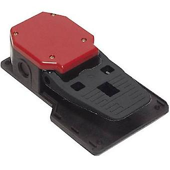 Foot switch 250 V AC 6 A 1-pedal 1 maker, 1 break