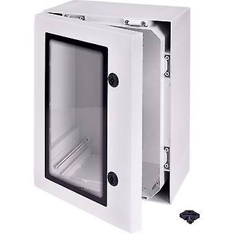 Fibox ARCA 403021W Carcasa de montaje en pared, Soporte de montaje 400 x 300 x 210 Policarbonato (PC) Gris-blanco (RAL 7035) 1 ud(s)