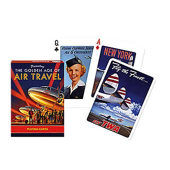 Golden Age Of Air Travel Set Of 52 Playing Cards (+ Jokers)