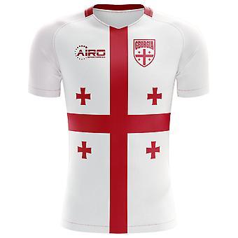 2018-2019 Georgien Flag Konzept Fußballtrikot