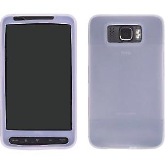 Wireless Solutions Silicone Gel Case for HTC HD2 - Clear