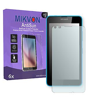 Microsoft Lumia 640 Screen Protector - Mikvon AntiSun (Retail Package with accessories)