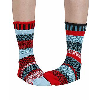 Mars recycled cotton multicoloured odd-socks   Crafted by Solmate