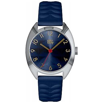 Orla Kiely | Ladies Beatrice | Navy Blue Sun Ray Dial | OK2289 Watch