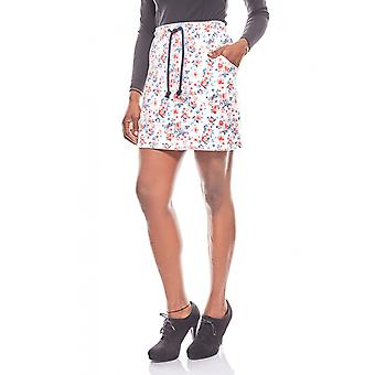 AjC ladies mini skirt with colorful flower patterns