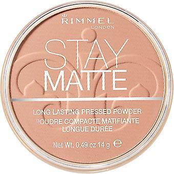 Rimmel Stay Matte Powder 009 ambra pressata 14g