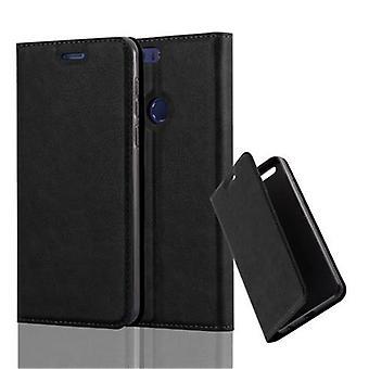 Cadorabo Hülle für Honor 8 Case Cover - Handyhülle mit Magnetverschluss, Standfunktion und Kartenfach – Case Cover Schutzhülle Etui Tasche Book Klapp Style