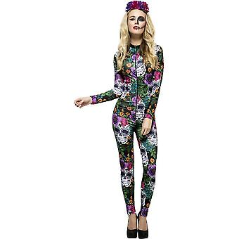Fever Day of the Dead Costume, Large