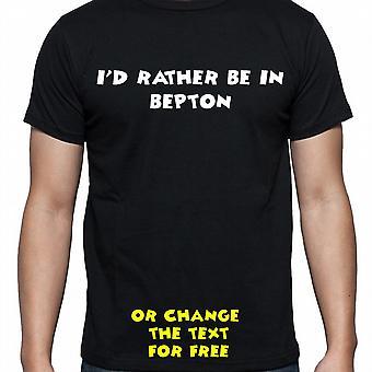 Ik had eerder worden In Bepton Black Hand gedrukt T shirt