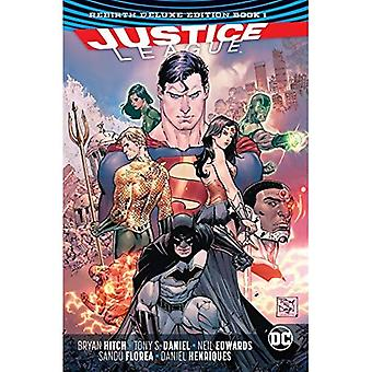 Justice League HC Vol 1 & 2 Deluxe Edition Rebirth