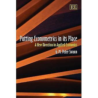 Setzen Ökonometrie an seinem Platz