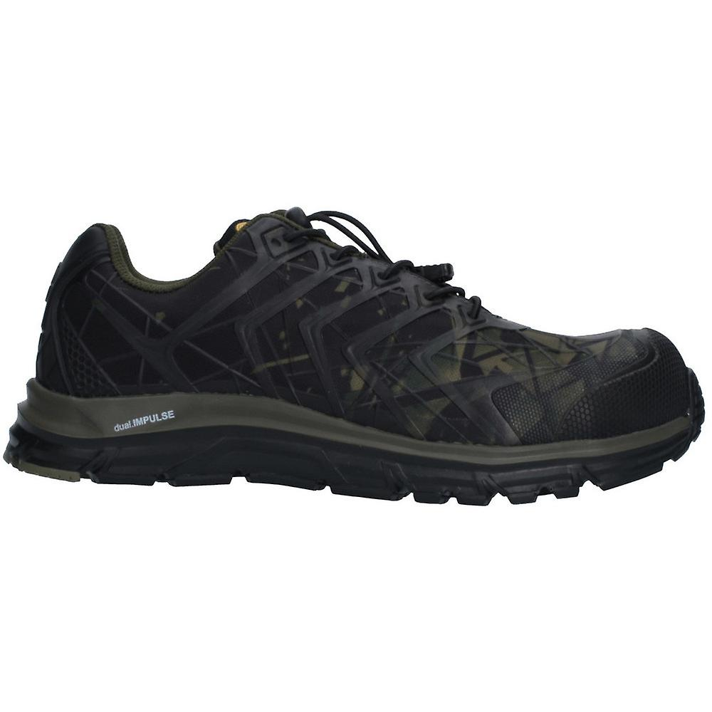 Albatros Mens Energy Impulse Olive Low Safety Trainers