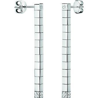 Kolczyki Calvin Klein w kolorze srebrnym