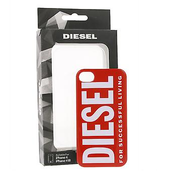 DIESEL case printed Mobile Shell for iPhone 4/iPhone 4S Red