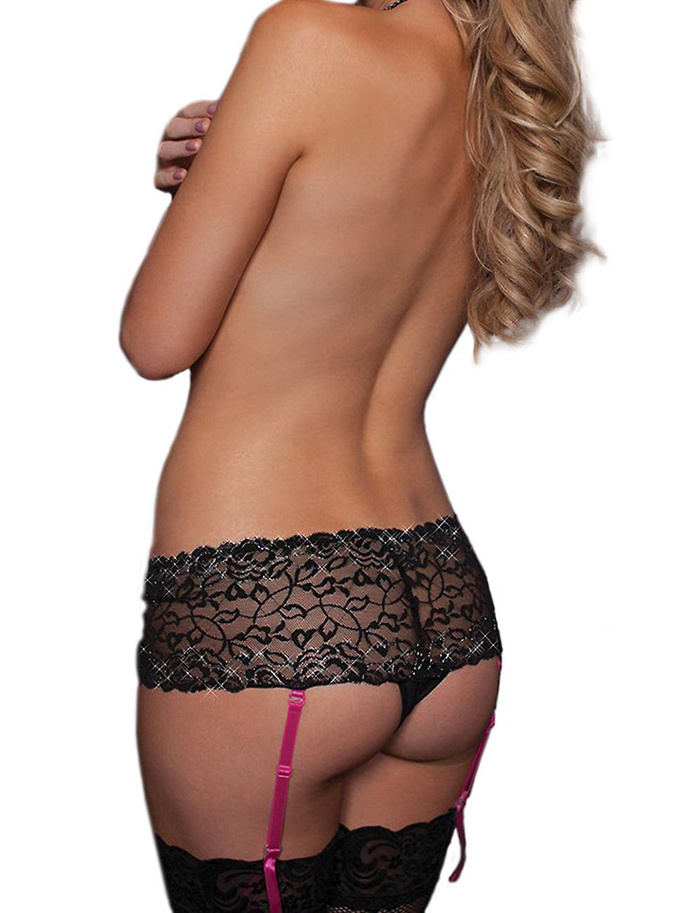 Waooh69 - Shorty with lace and garter Guin