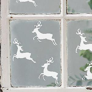 Set of 6 ReindeerWall Stickers