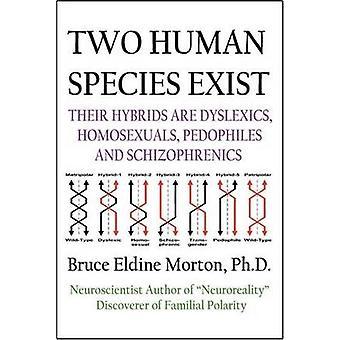 Twee menselijke soort bestaan hybriden daarvan zijn Dylsexics homoseksuelen pedofielen en schizofrenen door Morton & Bruce Eldine