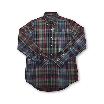 Ralph Lauren shirt in red/green tartan