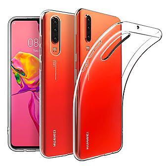 Huawei numéro de téléphone cas cas étui étui silicone transparent