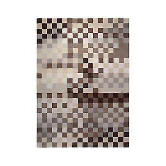 Rugs - Esprit Pixel - 2834/05 Multi Brown & Beige