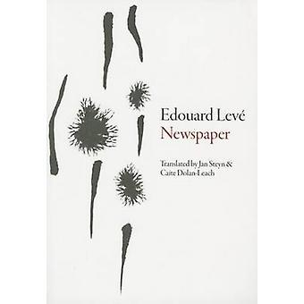 Newspaper by Edouard Leve - Jan Steyn - 9781564781956 Book