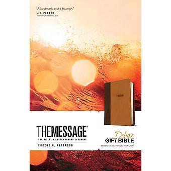 The Message Deluxe Gift Bible - The Bible in Contemporary Language by