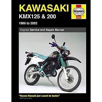 Kawasaki KMX 125 and 200 Service and Repair Manual - 1986-2002 (3rd Re