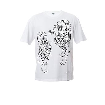 Kenzo White Cotton T-shirt