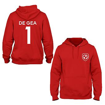David De Gea 1 Manchester United Style Player Kids Hoodie