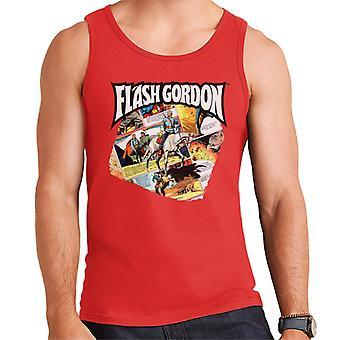 Flash Gordon Gryph Riding Montage Men's Vest
