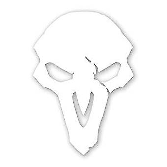 Sticker - Overwatch - Reaper Logo Window Die Cut Vinyl Decal 4x5