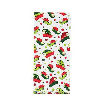 12 عيد الميلاد العفريت تصميم طبع أكياس الحزب السيلوفان