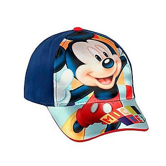Mickey Mouse Cap Azul