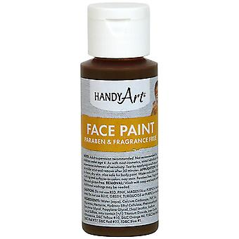 Handy Art Face Paint 2oz-Brown 558-50