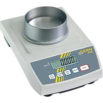 Precision scales Kern PCB 250-3 Weight range 250 g Readability 0.001 g mains-powered, battery-powered, rechargeable Silv