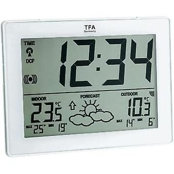 Wireless digital weather station TFA Station météo sans fil IT blanc 35-1125-02-IT Forecasts for 12 to 24 hours