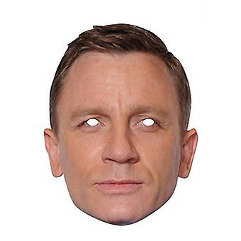 Daniel Craig célébrité James Bond carte masque Party